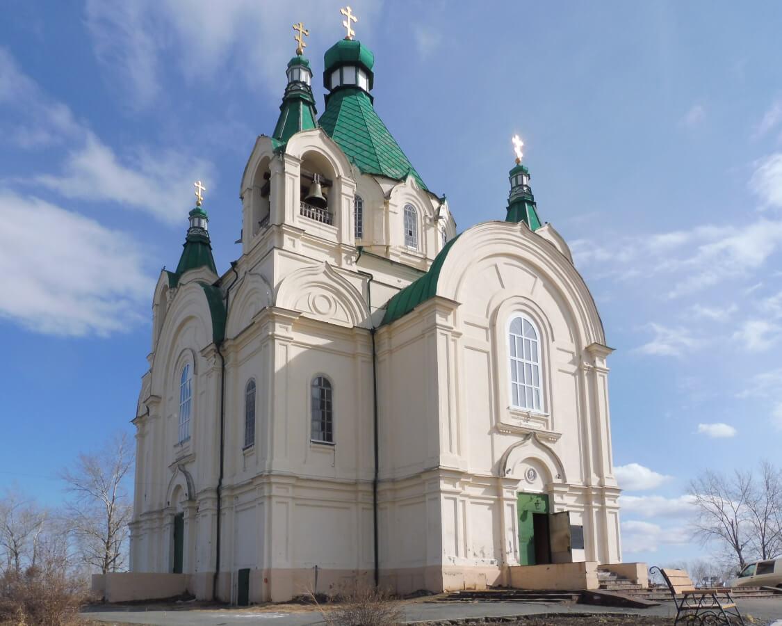 Нижний Тагил: Храм Александра Невского