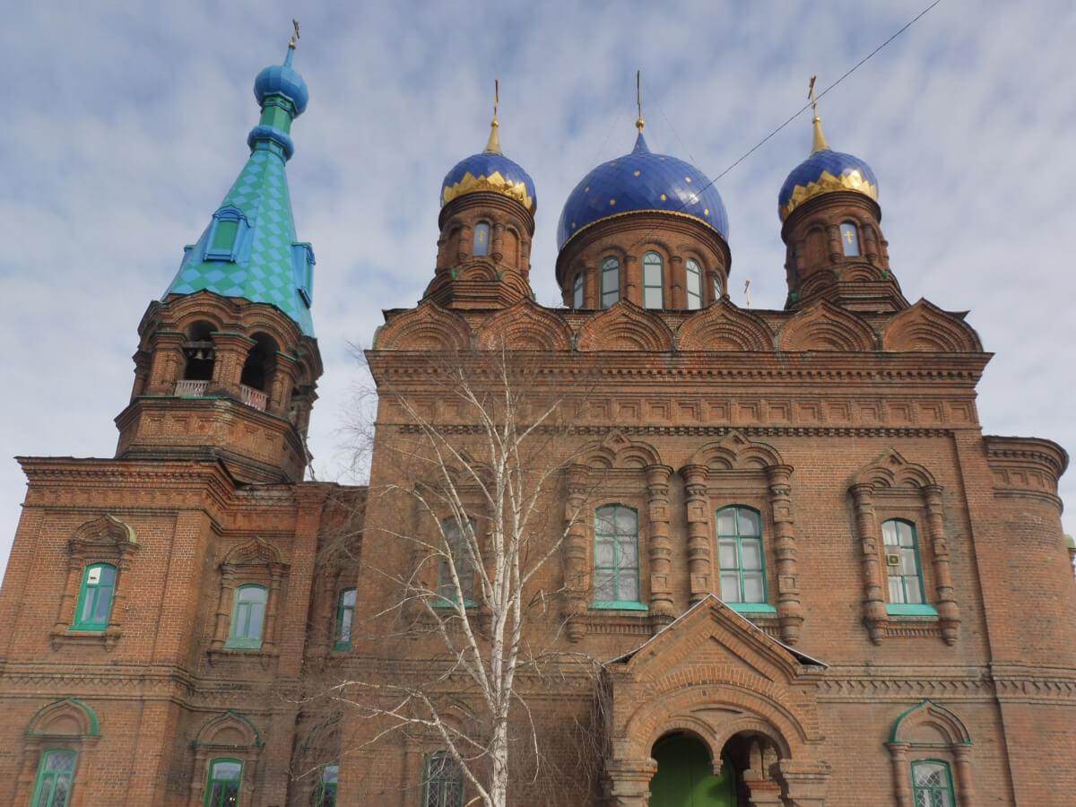 Красноуфимск: Храм Александра Невского