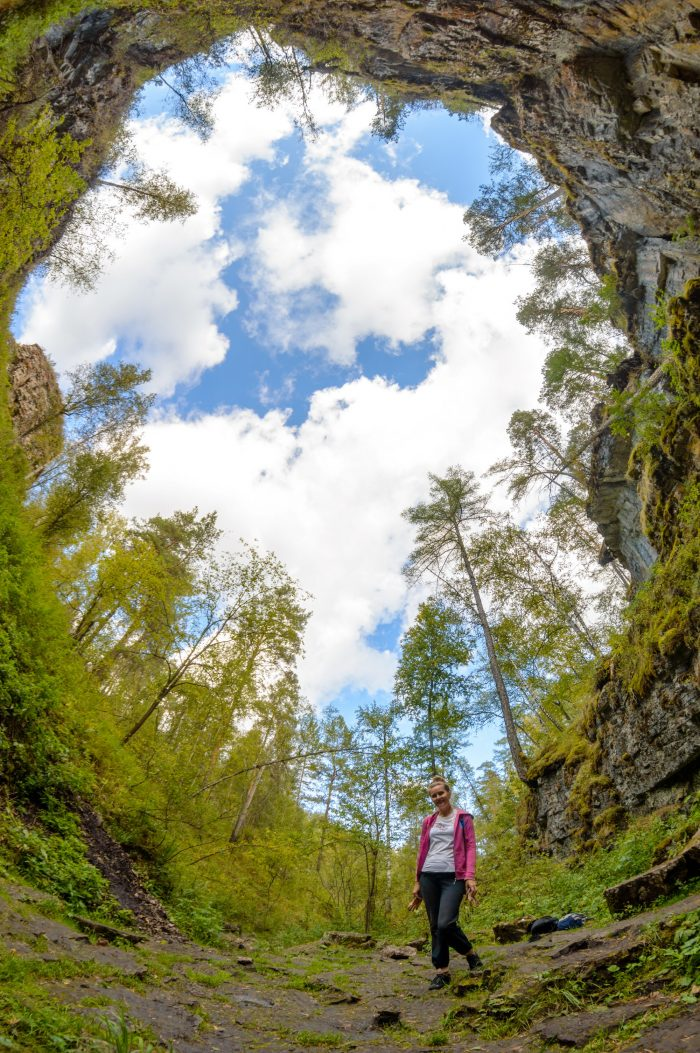 Сухие водопады, Река Ай, Саткинский район, Челябинская область