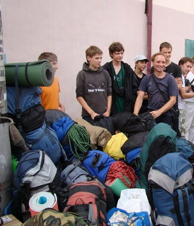 Поехали на Кавказ, альпинистами становиться