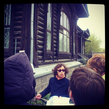 Экскурсовод Марина Сахарова