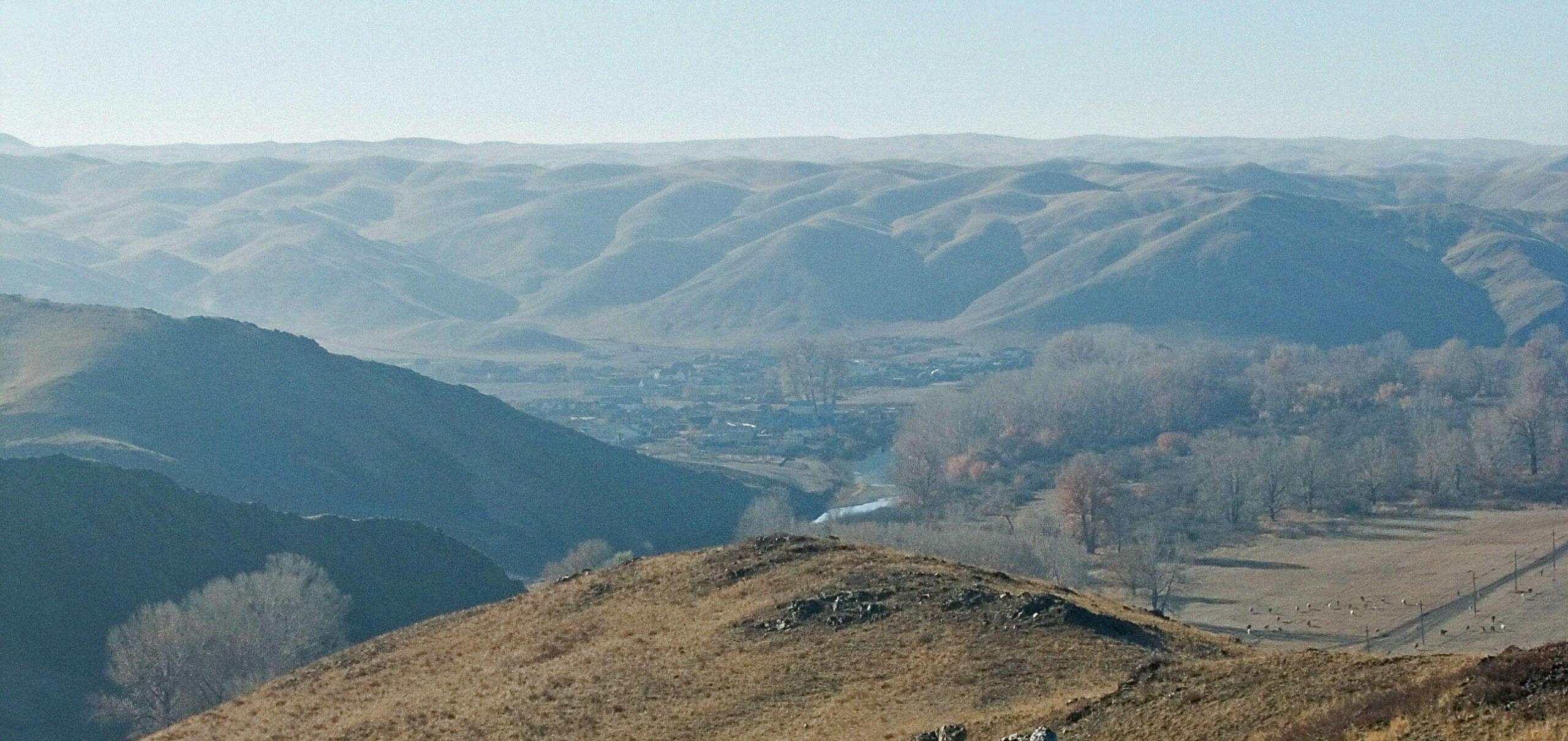 Перевал Кувандык-Медногорск