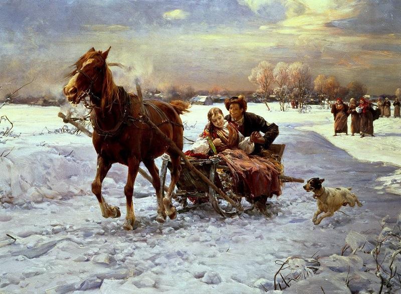 Альфред Веруш-Ковальский «Тихая ночь»