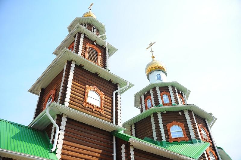 Касли. Храм Петра и Павла