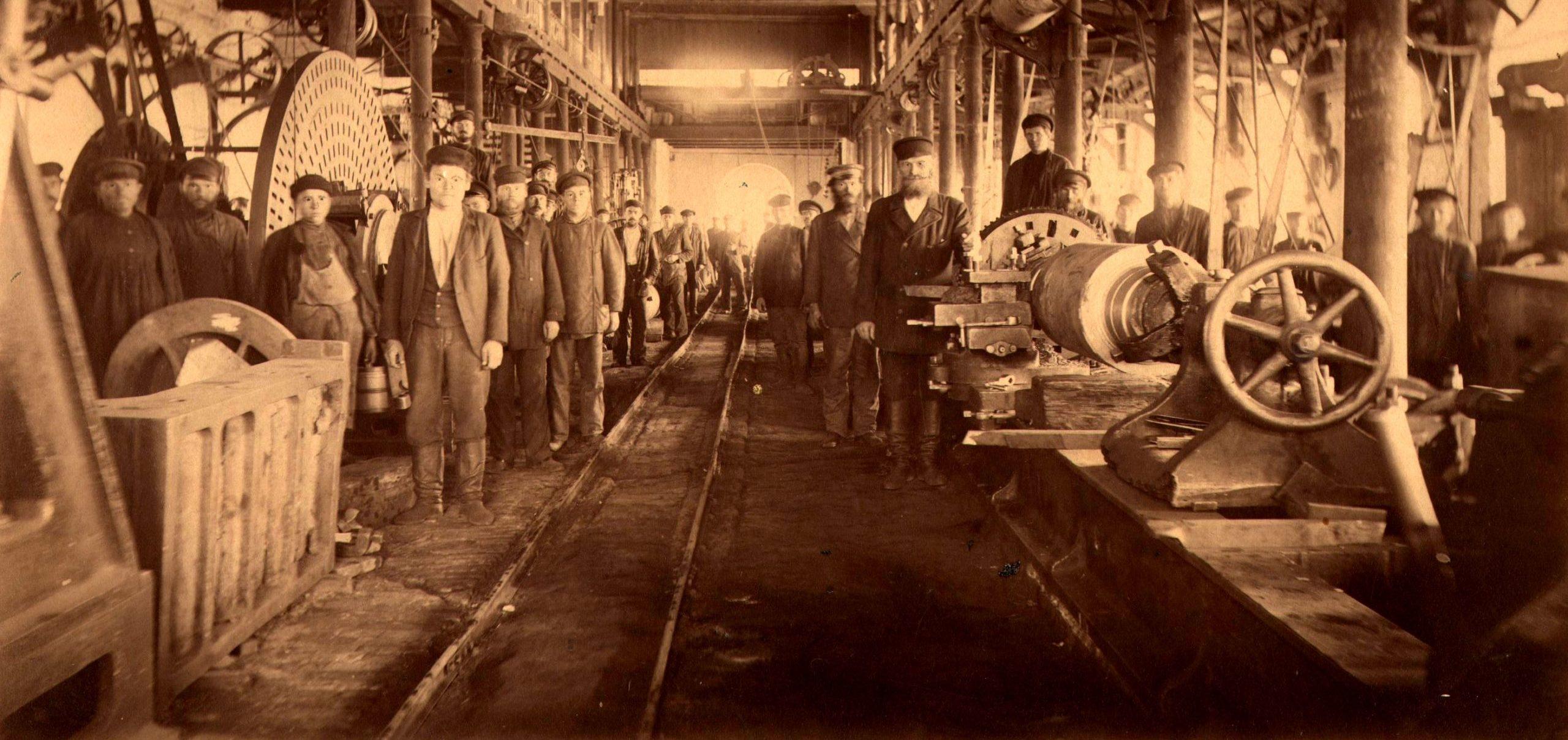 Чёрмоз дореволюционный. Часть 1: Чермозский металлургический завод