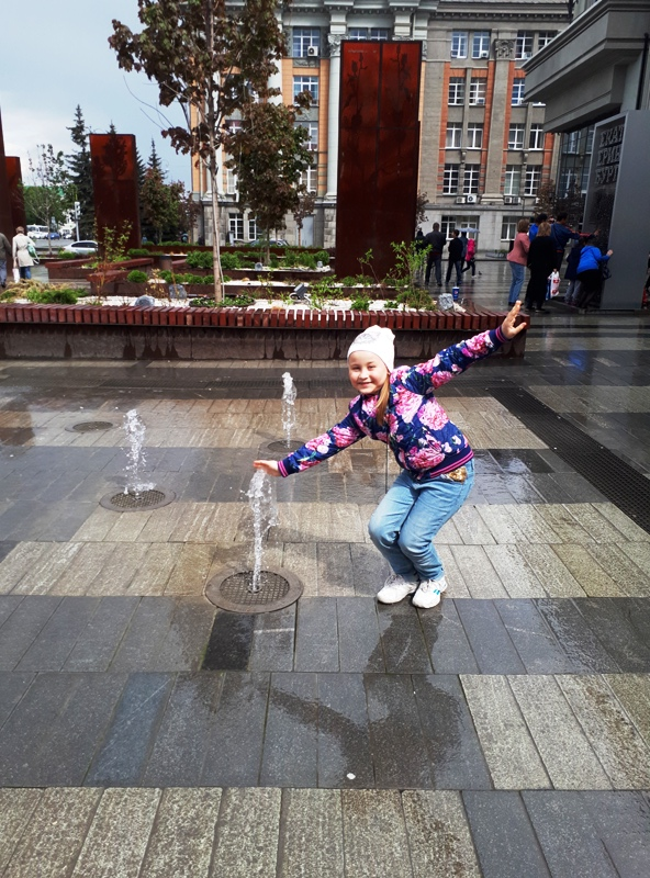 Фонтан у торгового центра «Пассаж», Екатеринбург