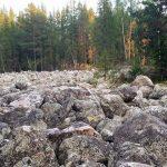 Курумник, каменная река, Отнурк, Башкортостан, Южный Урал
