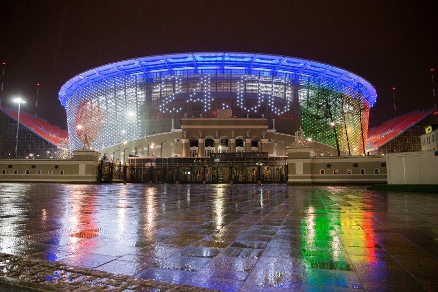 Чемпионат мира по футболу в Екатеринбурге, Екатеринбург-Арена, Свердловская область