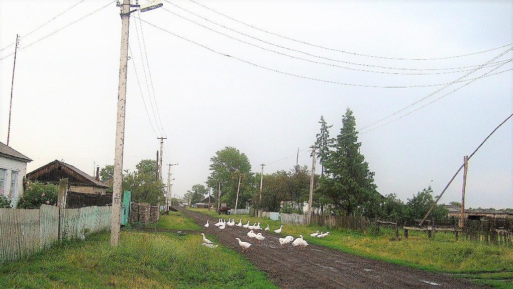 Тюменская область, село Абатское, малые города, колодец-журавль, история Урала, Малые города - удивительные достопримечательности,