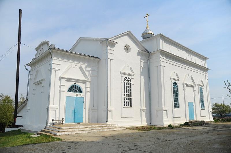 Касли. Никольская церковь