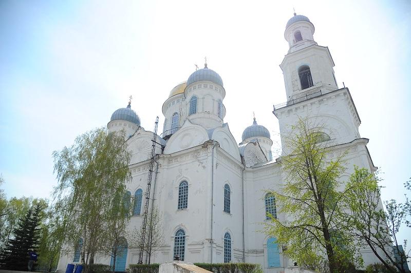 Касли. Вознесенский храм