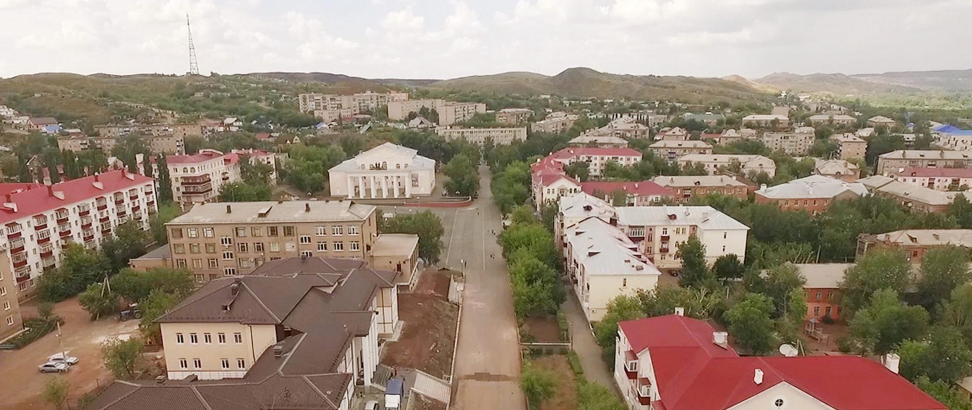 Прогулка по Медногорску