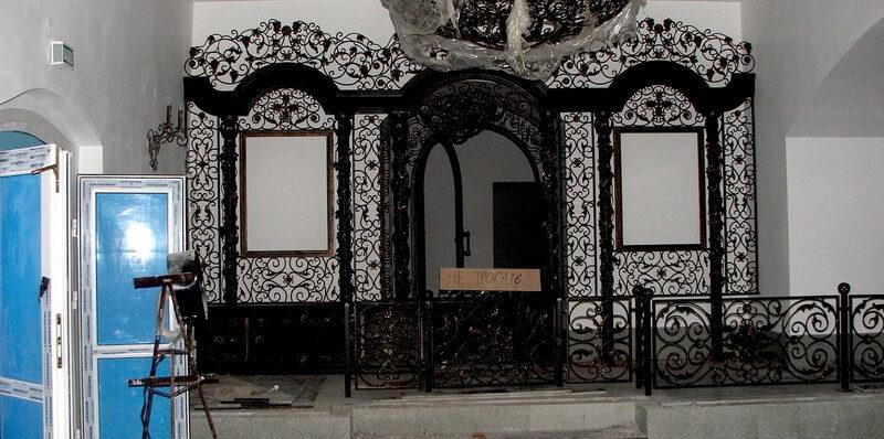 Ажурное чудо города Гая: кованый иконостас в храме святого праведного Иоанна Кронштадтского