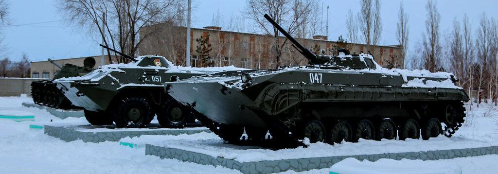 История музея военной техники в городе Гае (Оренбургская область)