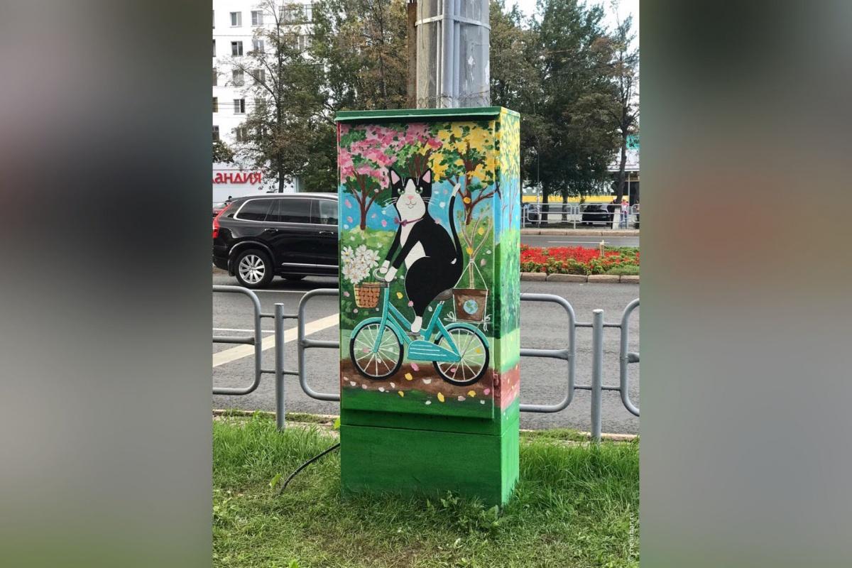 Кот, арт-объект, Челябинск, Челябинская область