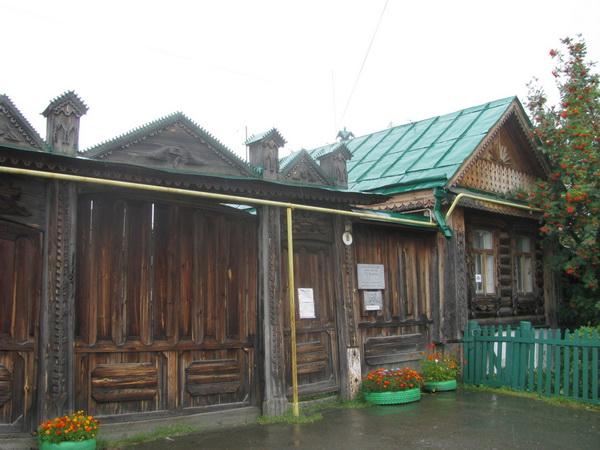 Мемориальный дом-музей П.П. Бажова в Сысерти