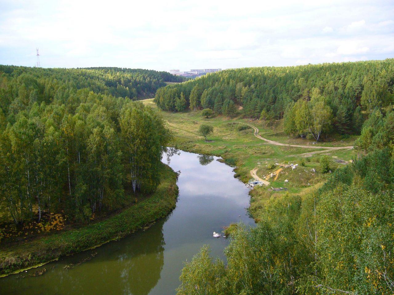 Городской прогулочный парк «Разгуляевский», Каменск-Уральский, Свердловская область