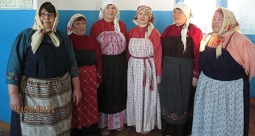 Одежда старообрядцев Верещагинского района Пермского края