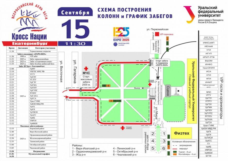 Кросс нации в Екатеринбурге