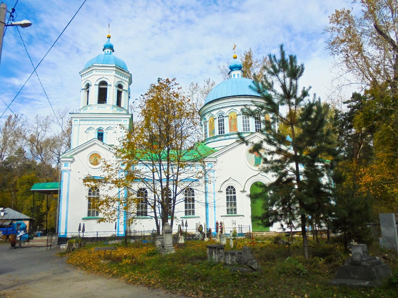 Воскресенская церковь, Шадринск, Курганская область