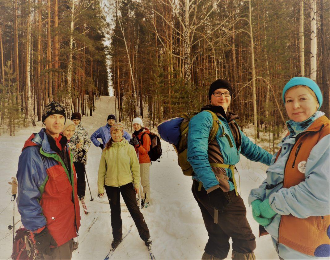 Лыжные тренировки на Уктусе