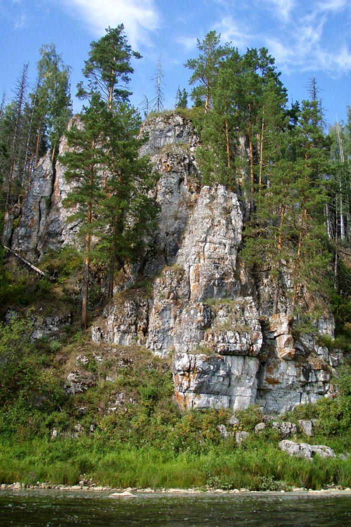 Камень Дождевой, Харёнкинская петля: двухдневный сплав по Чусовой