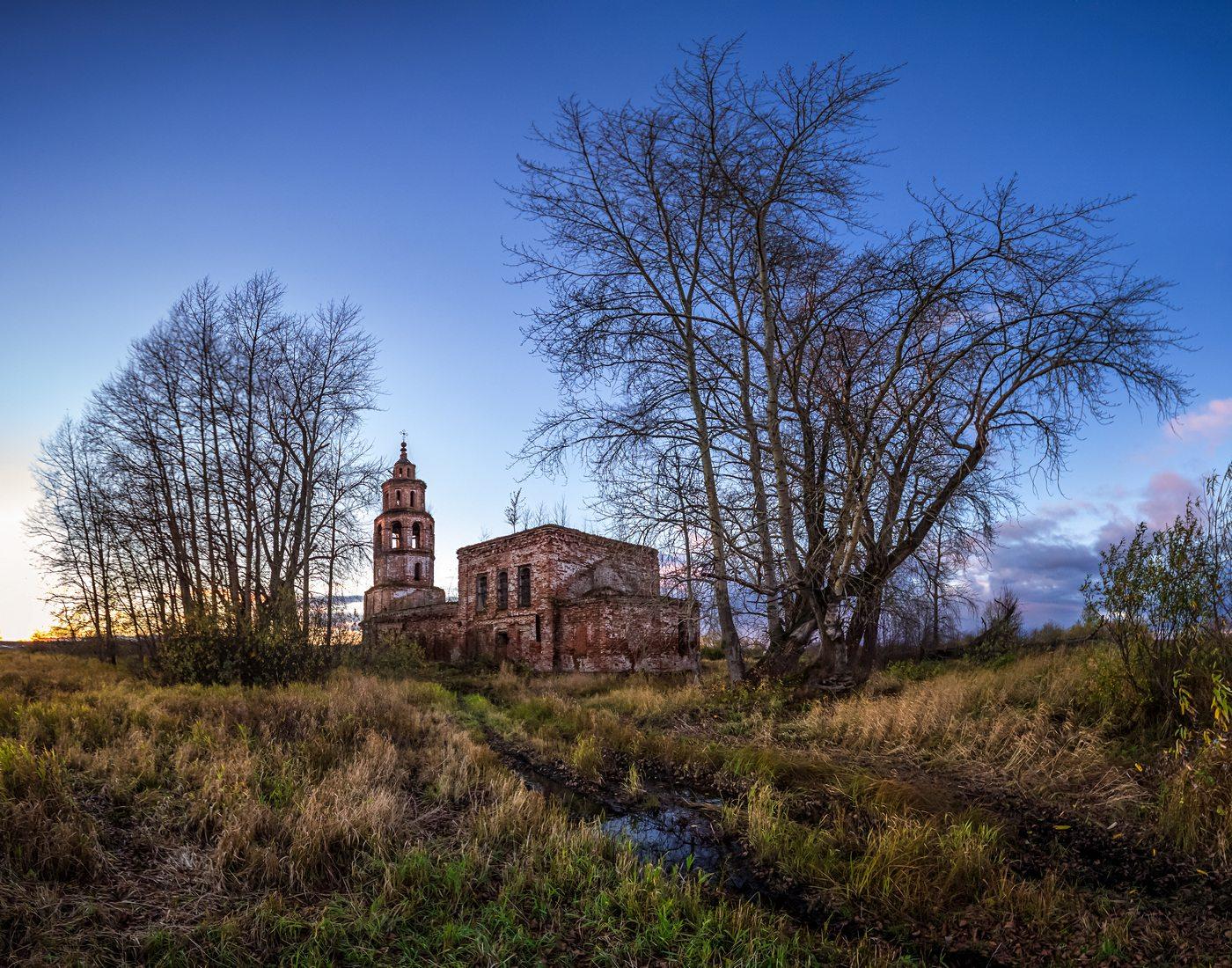 Рубежская церковь в Усолье