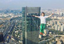 Екатеринбург, экстрим, спорт, хайлайн