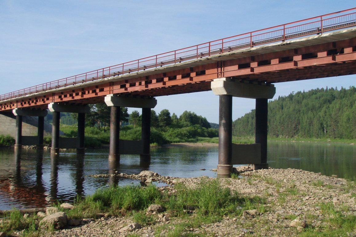 Зимний лог, мост, река Чусовая, Свердловская область