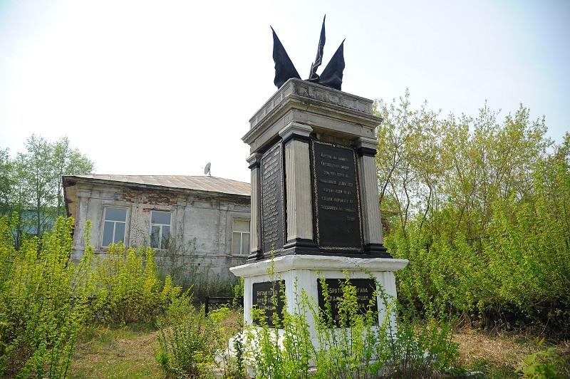 Касли. Братская могила революционеров