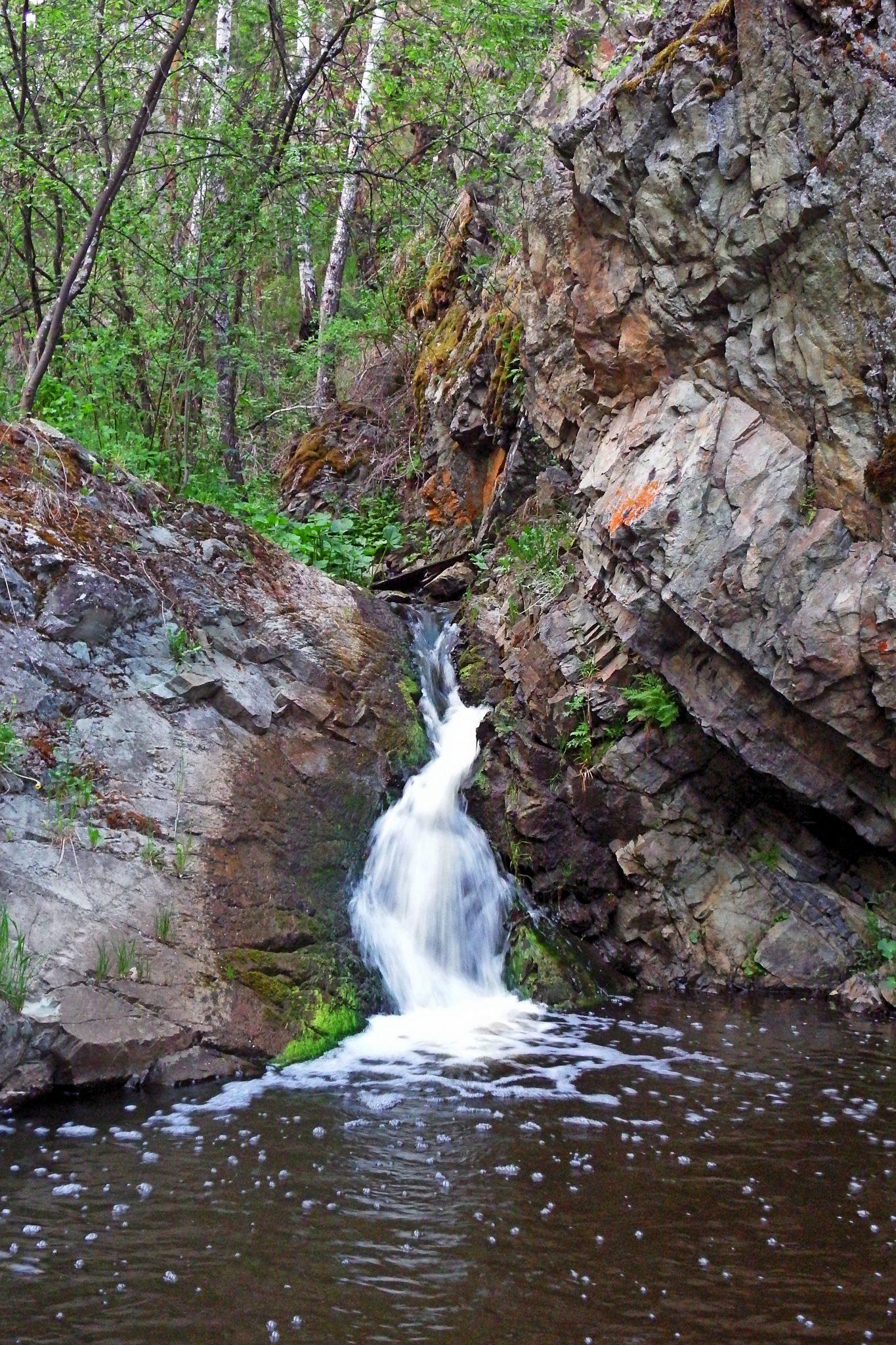 Река Багаряк: «Ольгин» водопад