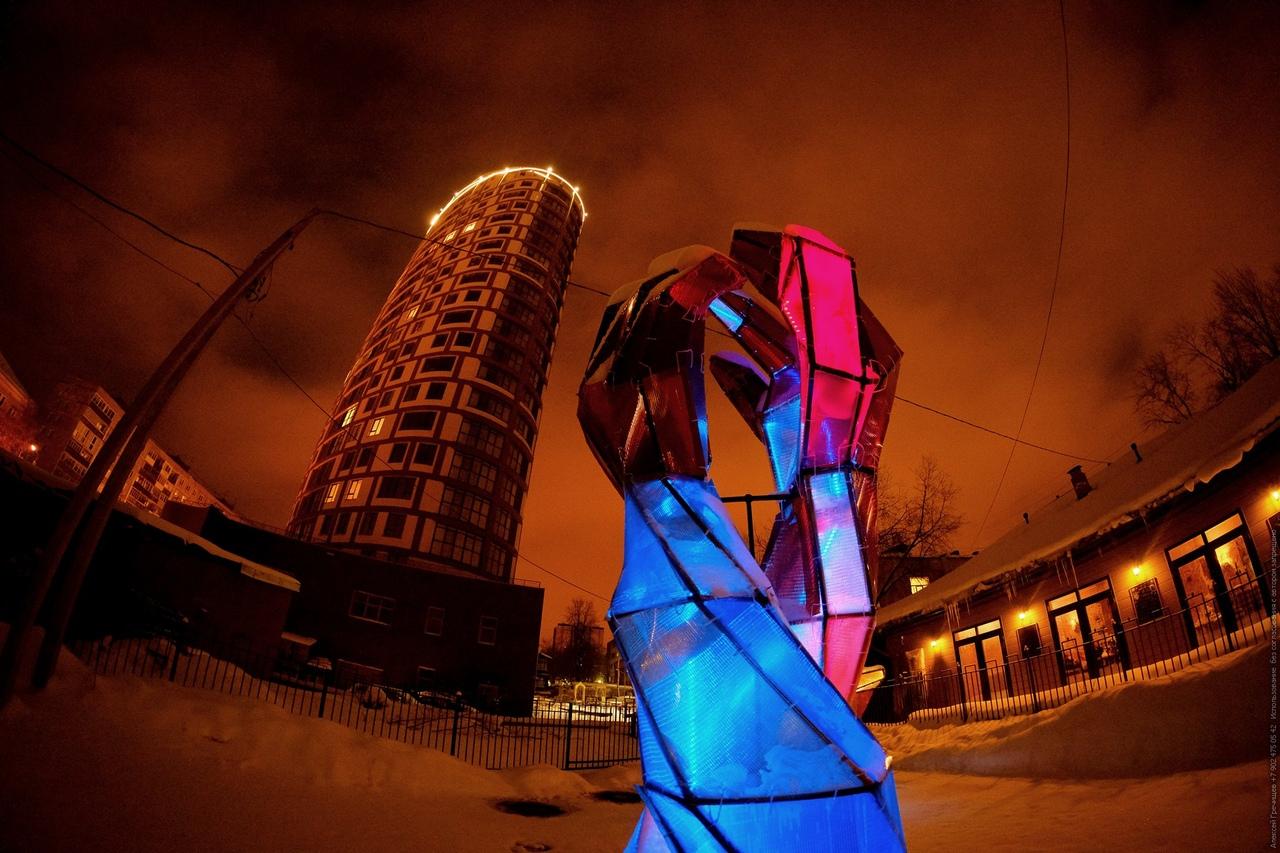 Сквер памяти Александра Жунева в Перми