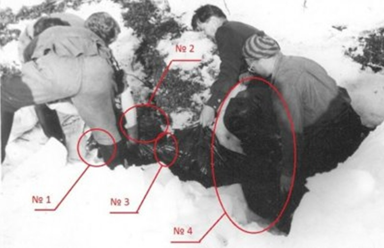 фото погибших дятловцев