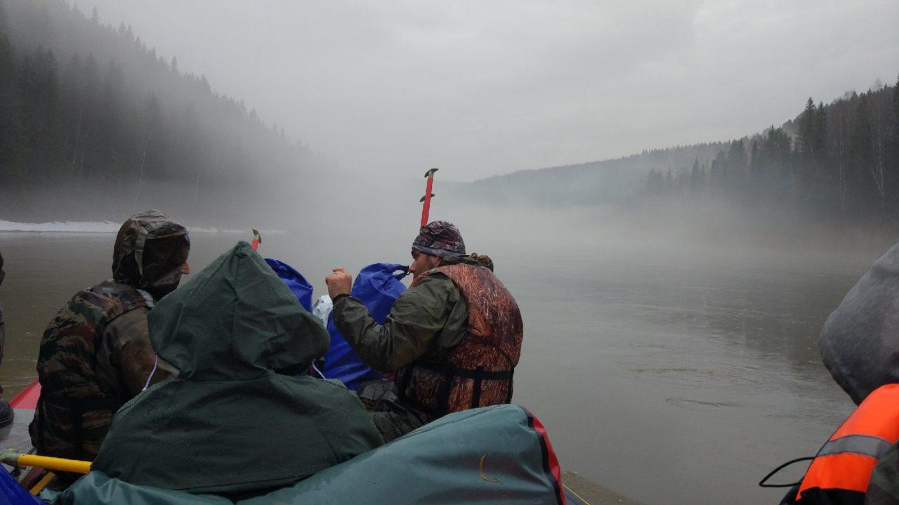 В тумане (фото Людмилы Окуневой)