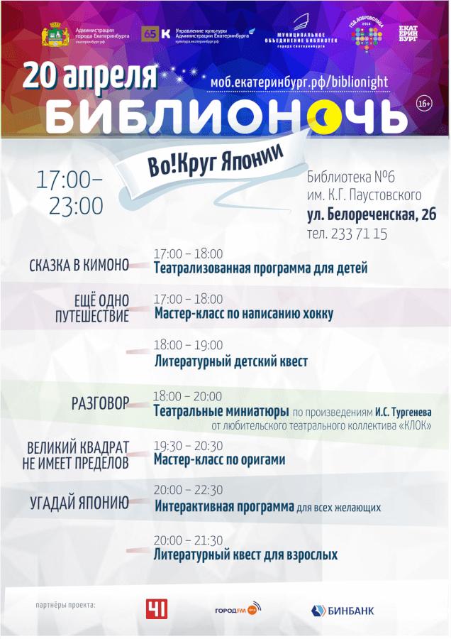 Бибблионочь 2018 в библиотеке Паустовского