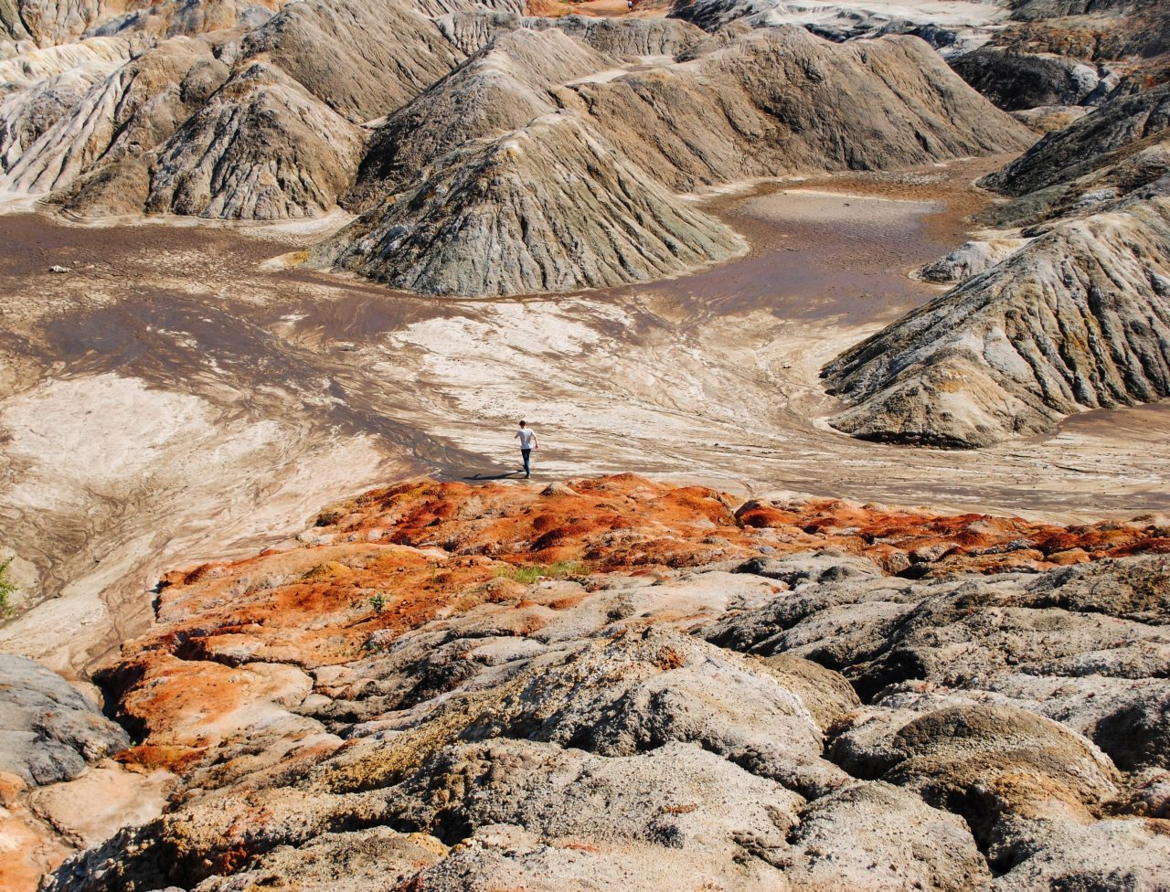 Свердловская область, Урал, уральский Марс, марсианская пустыня, богдановичские глиняные карьеры