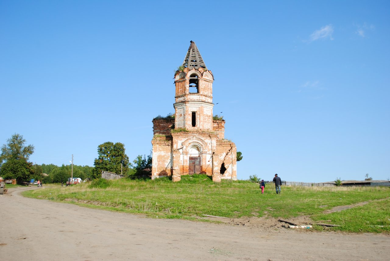 Свердловская область, история Урала, православие, заброшенные церкви, большевики