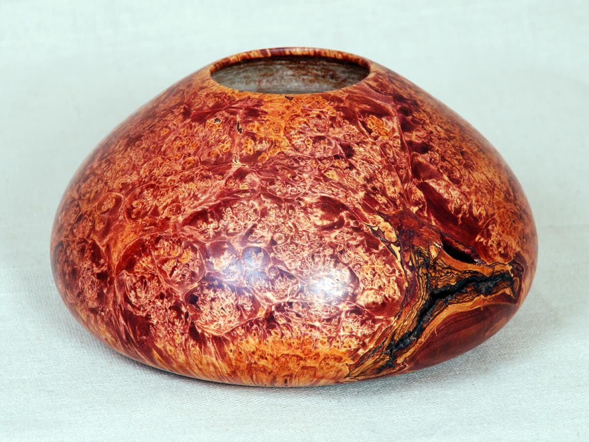 Художественная обработка капа - «Деревянный малахит»