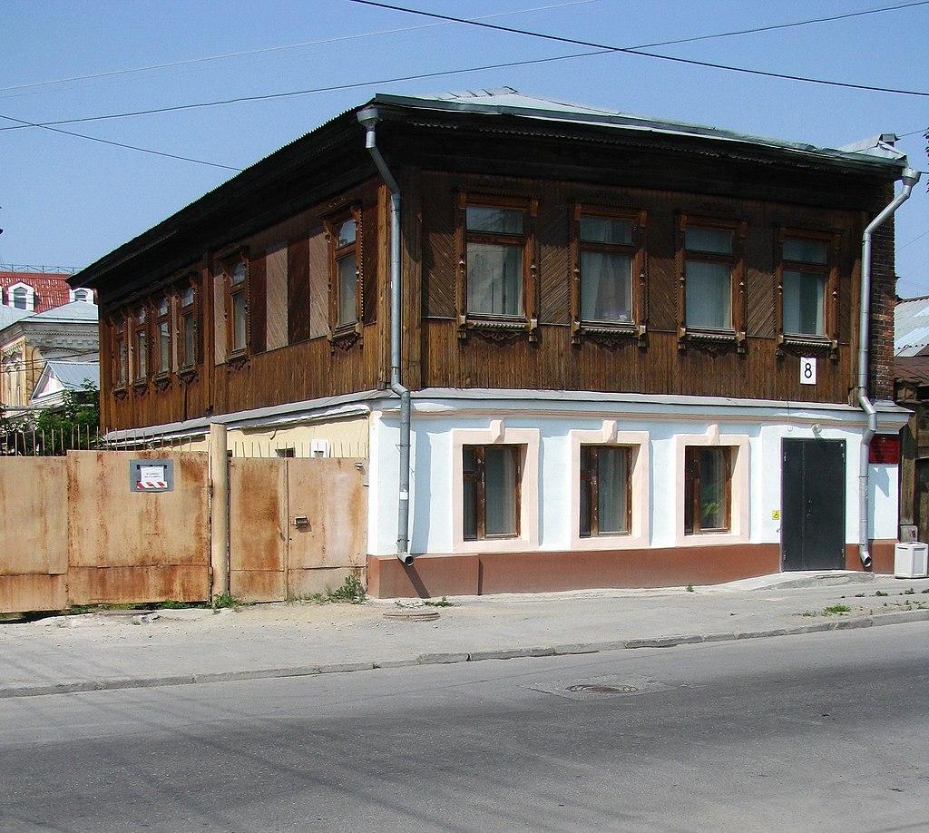Дом Неизвестных в Свердловске