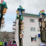 В Нефтекамске появился новый арт-объект «Птичий двор»