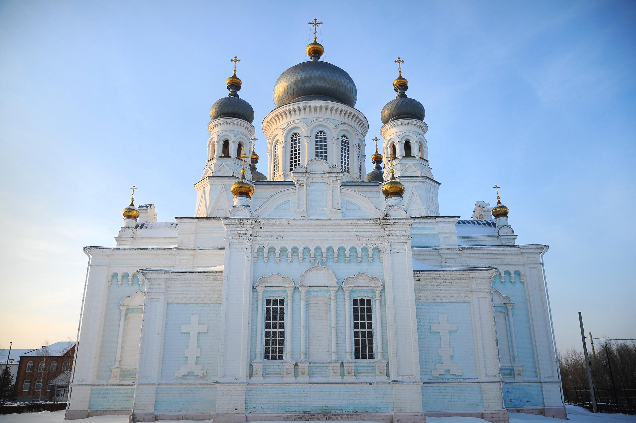 Храм Михаила Архангела в Сорочинске