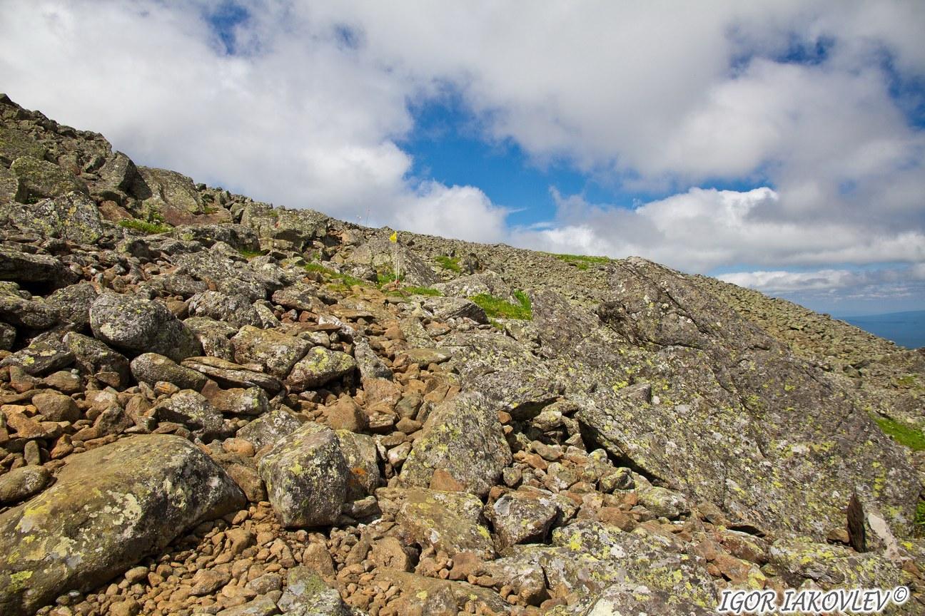Конжаковский горный массив, Уральские горы, Свердловская область