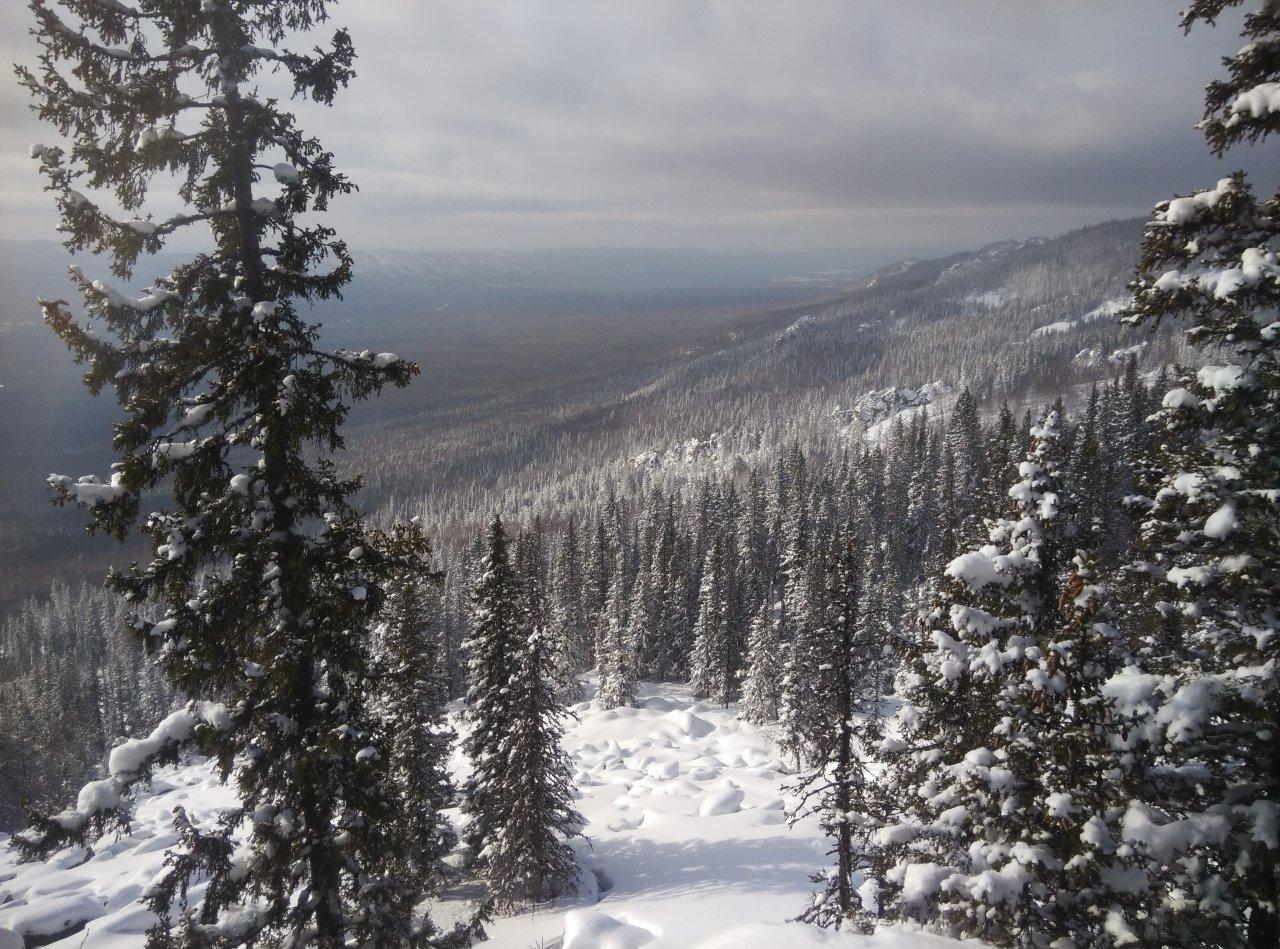Гора Поперечная, Хребет Зигальга, Южный Урал
