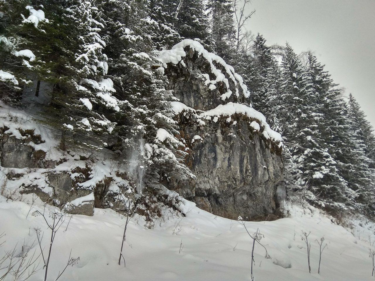 Камень Медвежка (фото из походного архива)