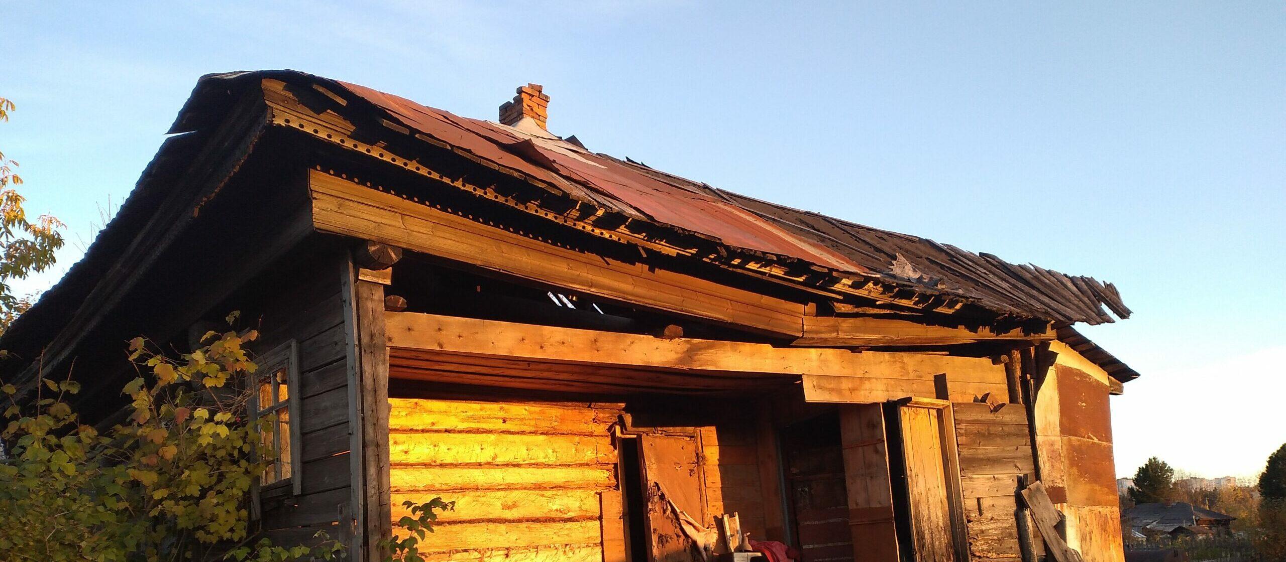 Легенда о заброшенном доме в селе Ананьино (Чернушинский район)