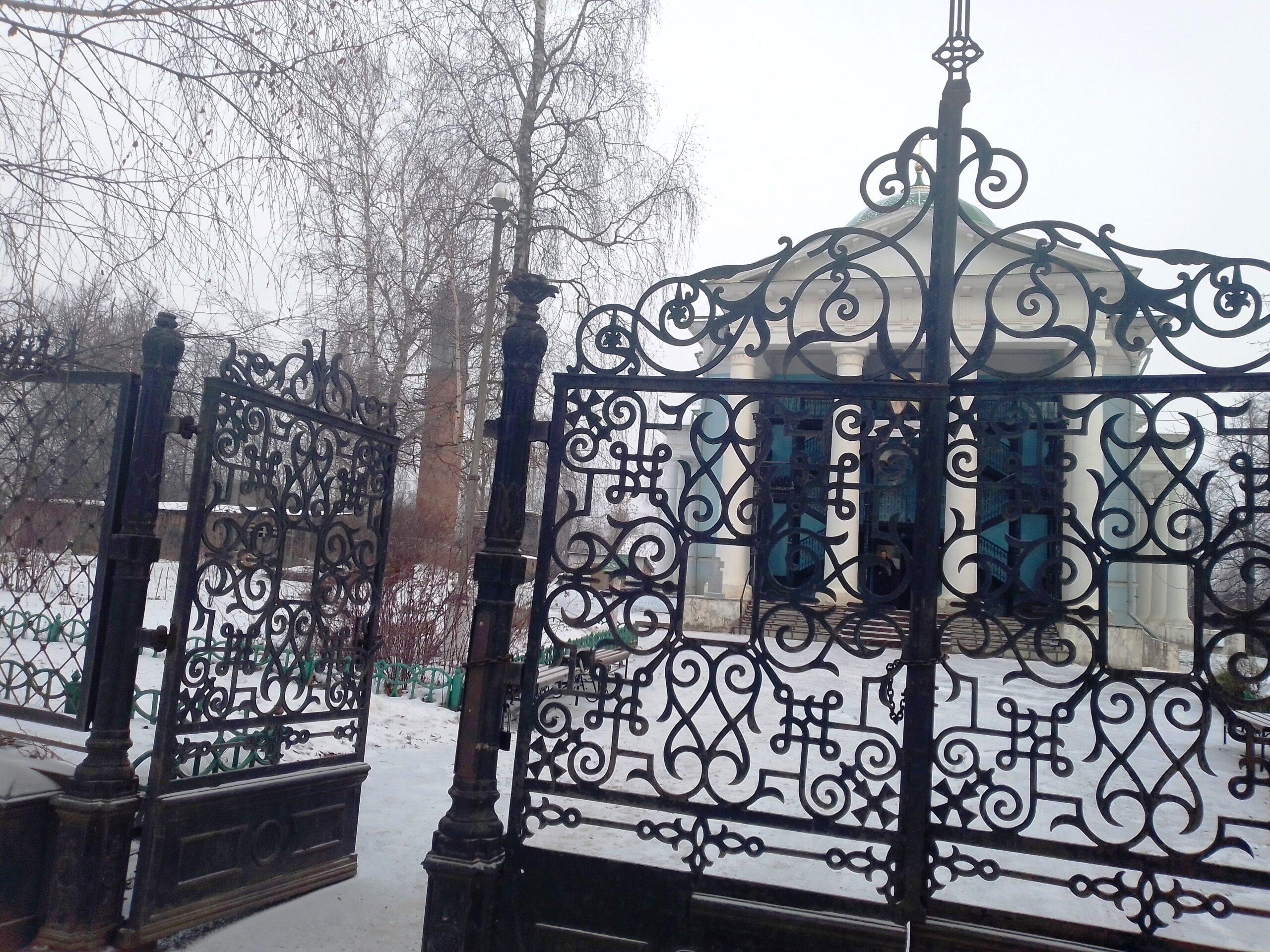 Ограда Михайло-Архангельской церкви