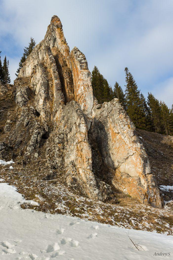 Камень Гребешок