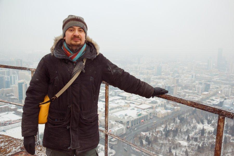 Телебашня, Екатеринбург, руферы, бейс-джамперы