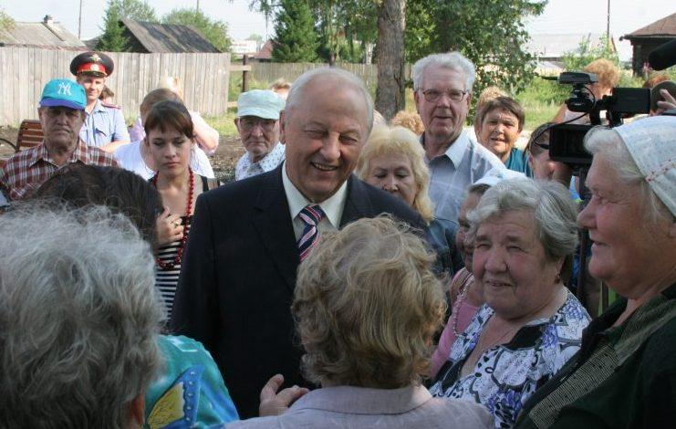Эдуард Россель, первый губернатор Свердловской области
