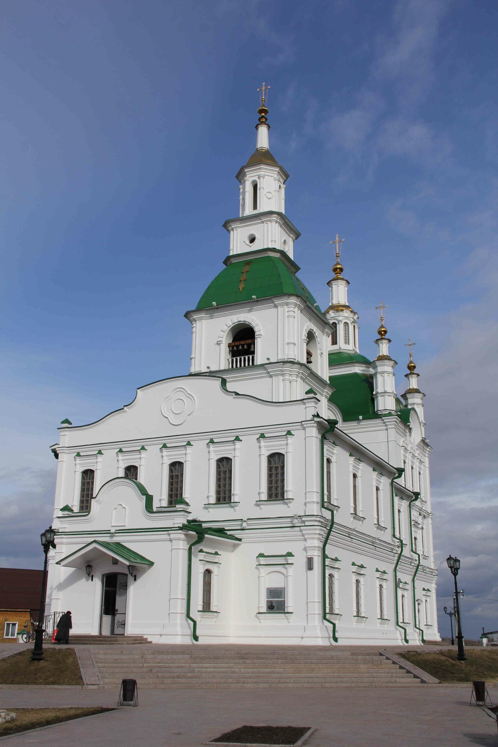 Тюменская область, Сретенский собор, Ялуторовск, православная история Урала, малые города,